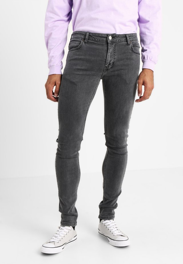 MAX PLAIN - Jeans Skinny Fit - plain grey