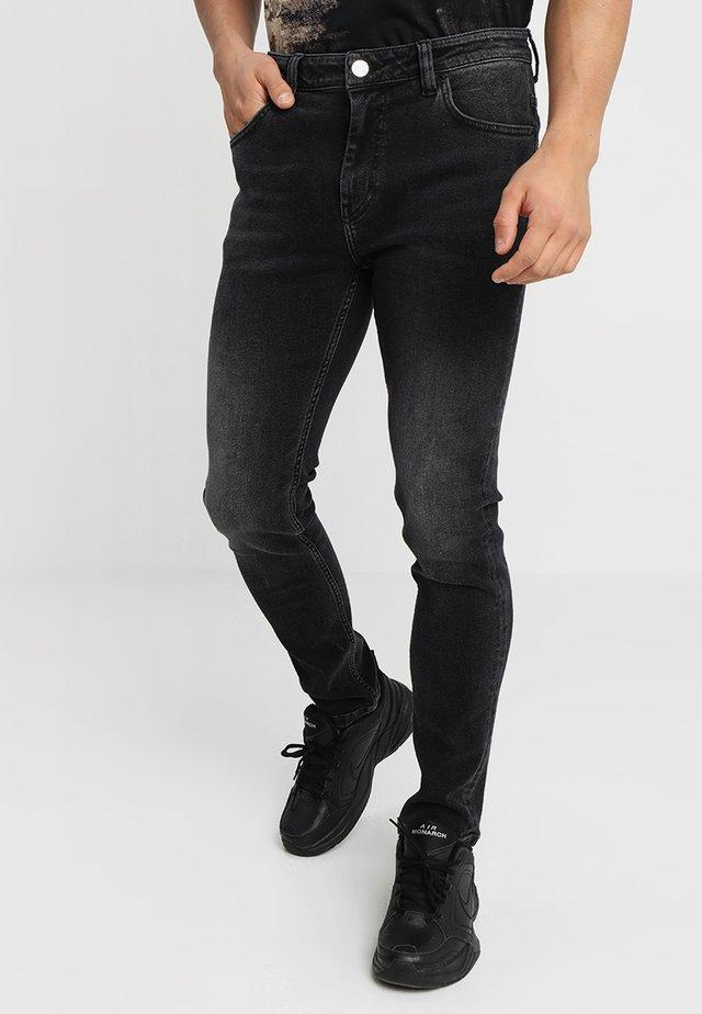 SICKO OBP - Slim fit -farkut - ozon black plain
