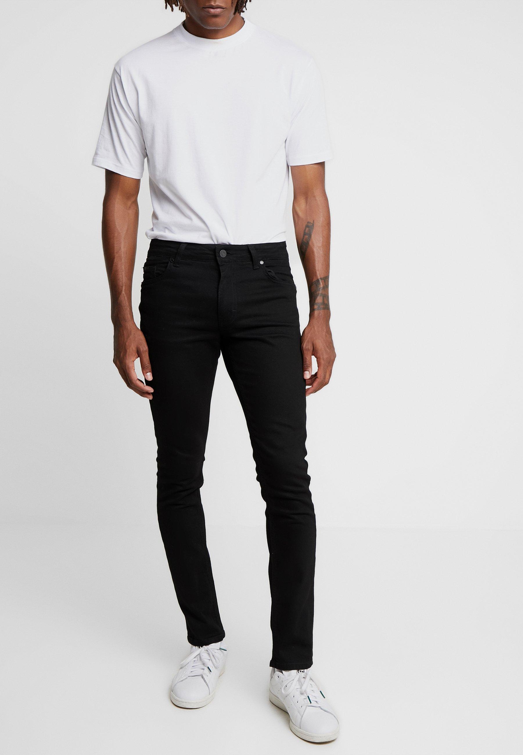 Just Junkies Slim Black Jeff NewJean 7fy6gb