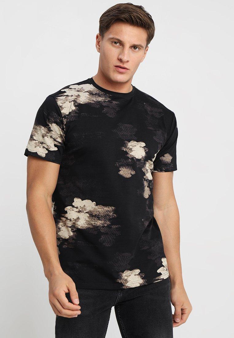 Just Junkies - GANGER  - Camiseta estampada - black