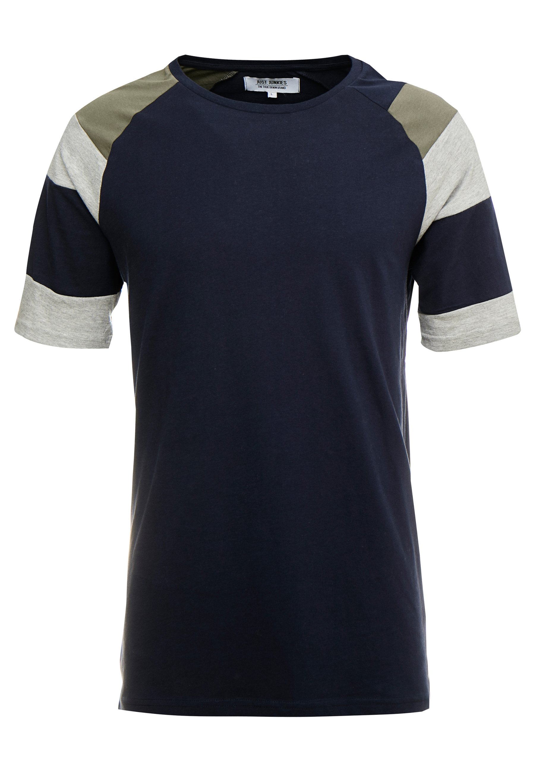 Just Junkies Cell Tee - T-shirt Con Stampa Navy