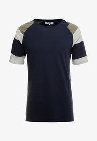Just Junkies - CELL TEE - Print T-shirt - navy - 4