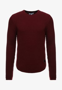 Just Junkies - ARNOLD - Strickpullover - bordeaux - 3