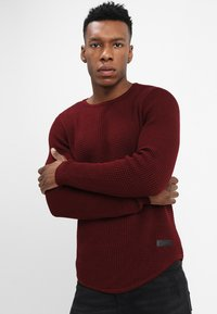 Just Junkies - ARNOLD - Strickpullover - bordeaux - 0