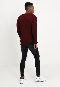 Just Junkies - ARNOLD - Strickpullover - bordeaux - 2