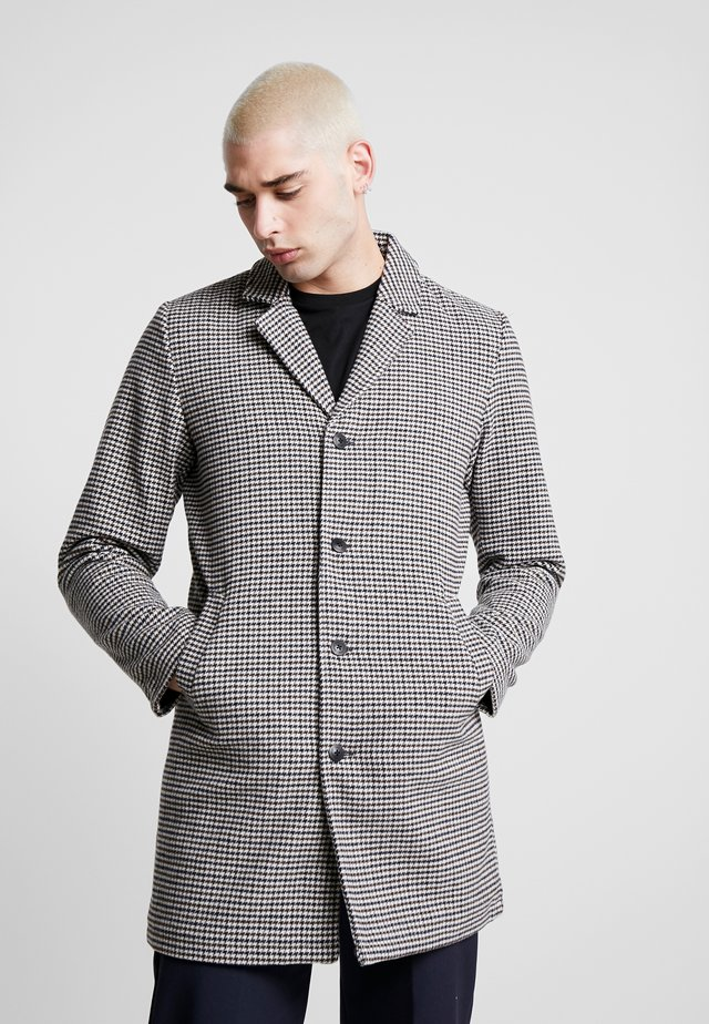 REYNOLD CHECKED - Classic coat - sand