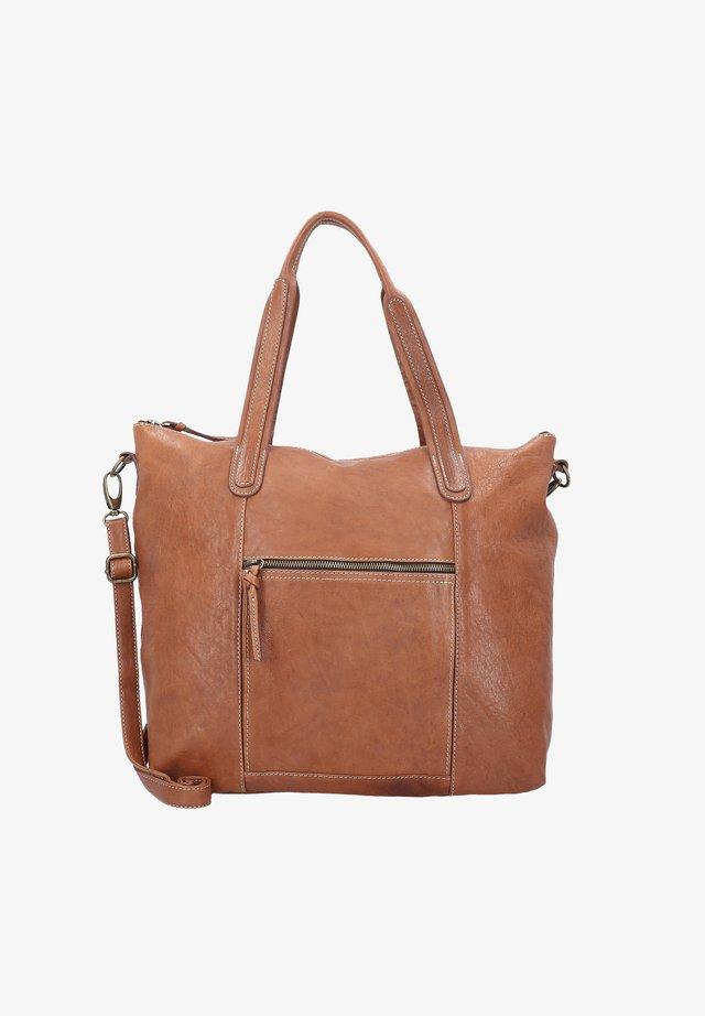 AMALFI  - Handbag - cognac