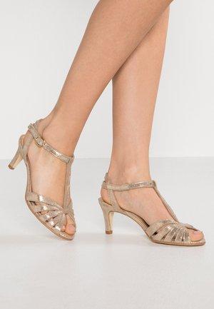 DOLIATE - Sandals - laura platine