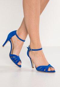 Jonak - DONIT - Sandales à talons hauts - blue - 0