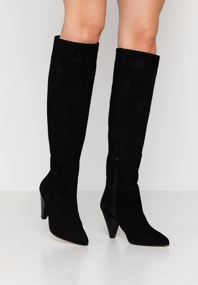 PAT - High heeled boots - noir