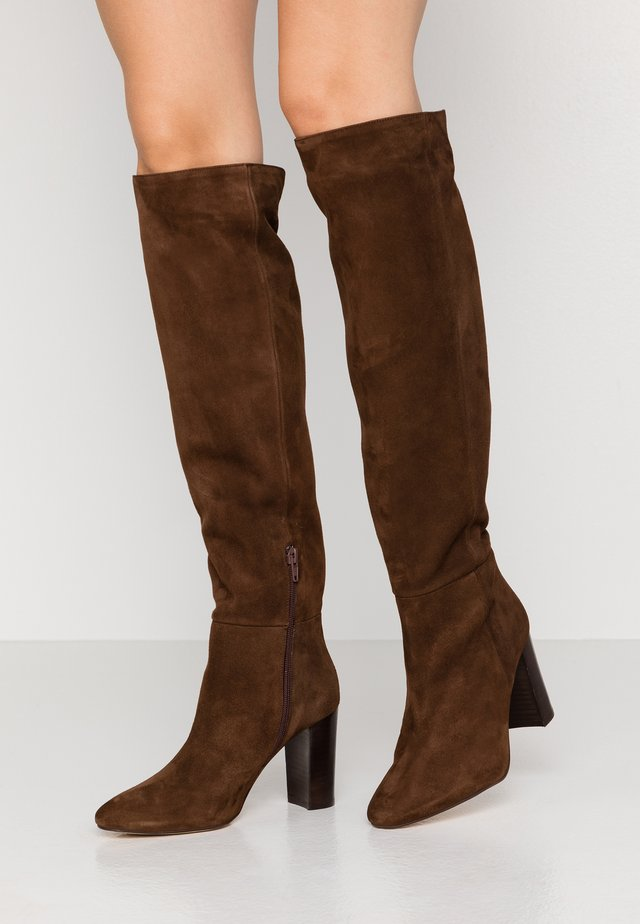 VANDA - High heeled boots - marron
