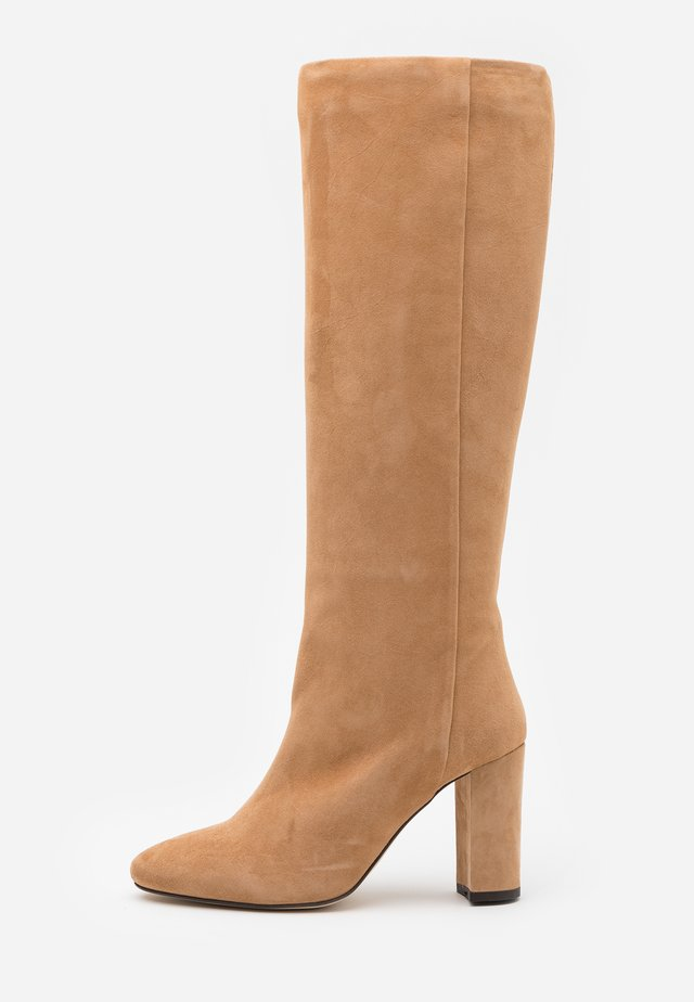 CALIME - High Heel Stiefel - camel