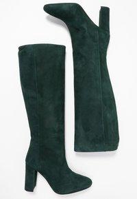 Jonak - CALIME - Bottes à talons hauts - dark green - 3