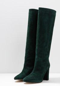 Jonak - CALIME - Bottes à talons hauts - dark green - 4