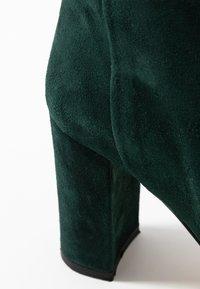 Jonak - CALIME - Bottes à talons hauts - dark green - 2