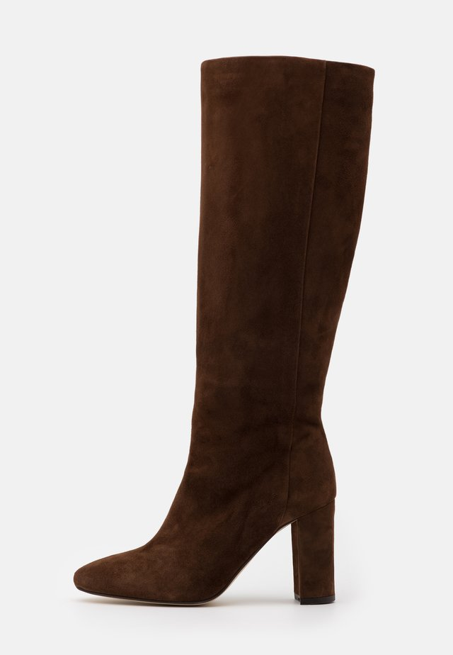 CALIME - High Heel Stiefel - marron force
