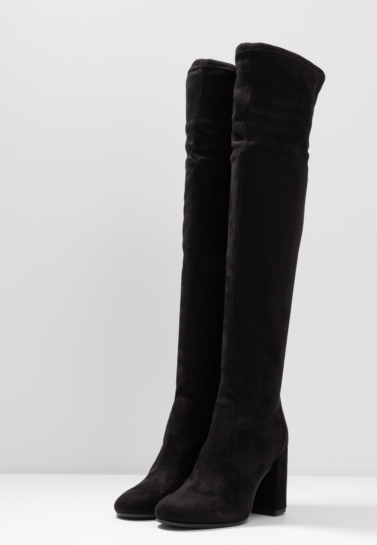 bottes cuir noir zalando