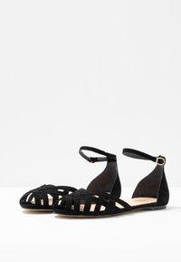 Jonak - DOO - Ankle strap ballet pumps - noir - 4