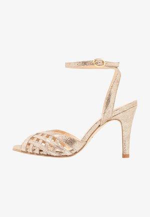 DAICHYAN - High heeled sandals - platine