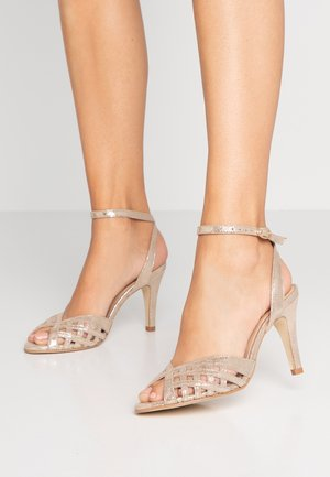 DAICHYAN - High heeled sandals - platine