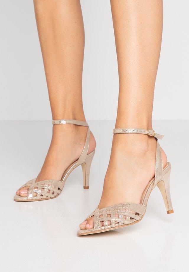 DAICHYAN - Sandalen met hoge hak - platine