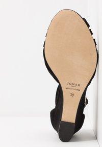 Jonak - DEYONIT - Sandales compensées - noir - 6