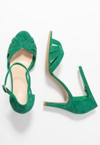 Jonak - DONIT - Sandales à talons hauts - vert fonce - 3