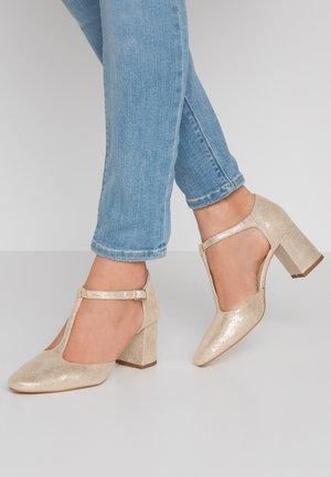 VENATI - Classic heels - platine