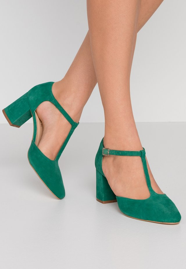 VENATI - Classic heels - vert fonce