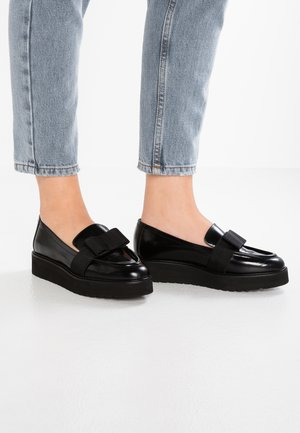 DENLY - Nazouvací boty - noir