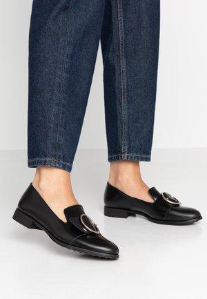 AHORA - Nazouvací boty - noir