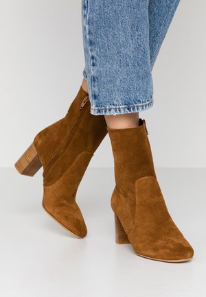 DIDLANEO - Classic ankle boots - camel