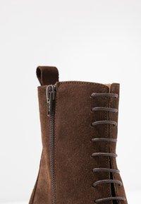 Jonak - DARROUSI - Lace-up ankle boots - cognac - 2