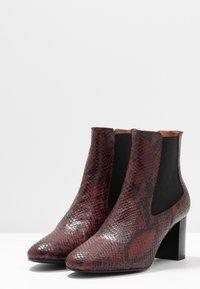 Jonak - DAMOCLE - Boots à talons - bordeaux - 4