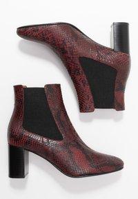 Jonak - DAMOCLE - Boots à talons - bordeaux - 3