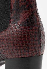 Jonak - DAMOCLE - Boots à talons - bordeaux - 2