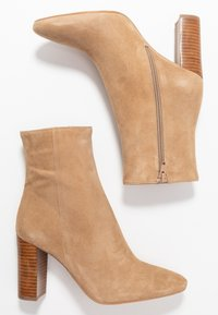 Jonak - VOLPONE - High heeled ankle boots - beige - 3