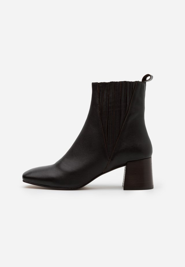 ALANIS - Classic ankle boots - marron