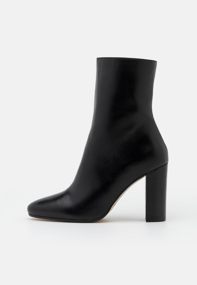VALORIS - High heeled ankle boots - noir