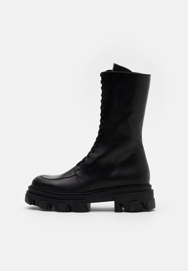 DEMETER - Platform-saappaat - black