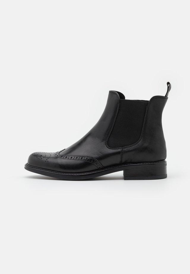 TRIM - Stövletter - cuir/noir