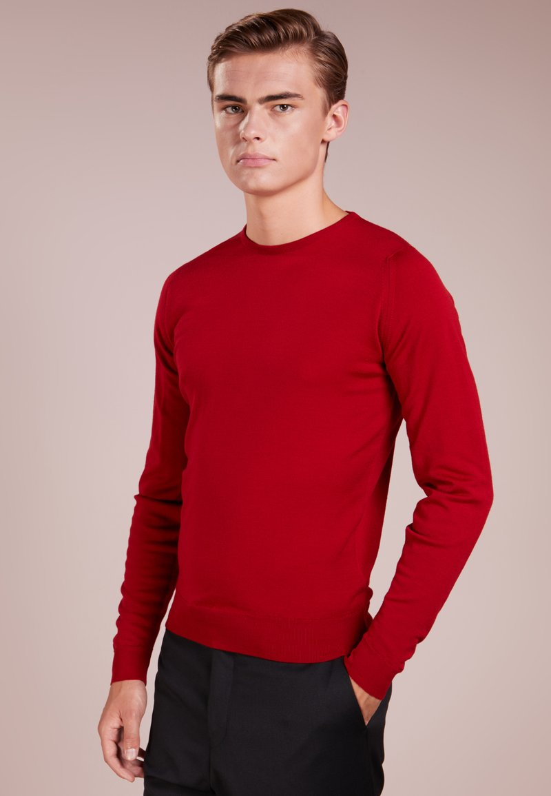 John Smedley - LUND - Jumper - thermal red