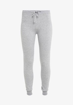 CASHMERE - Spodnie treningowe - silver