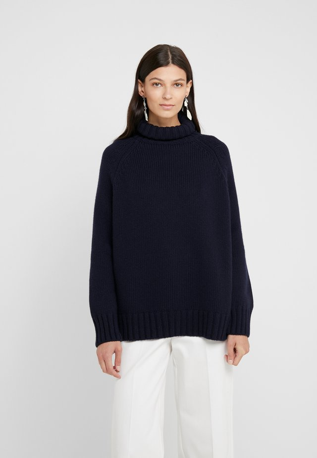 CASHMERE - Jumper - dark navy