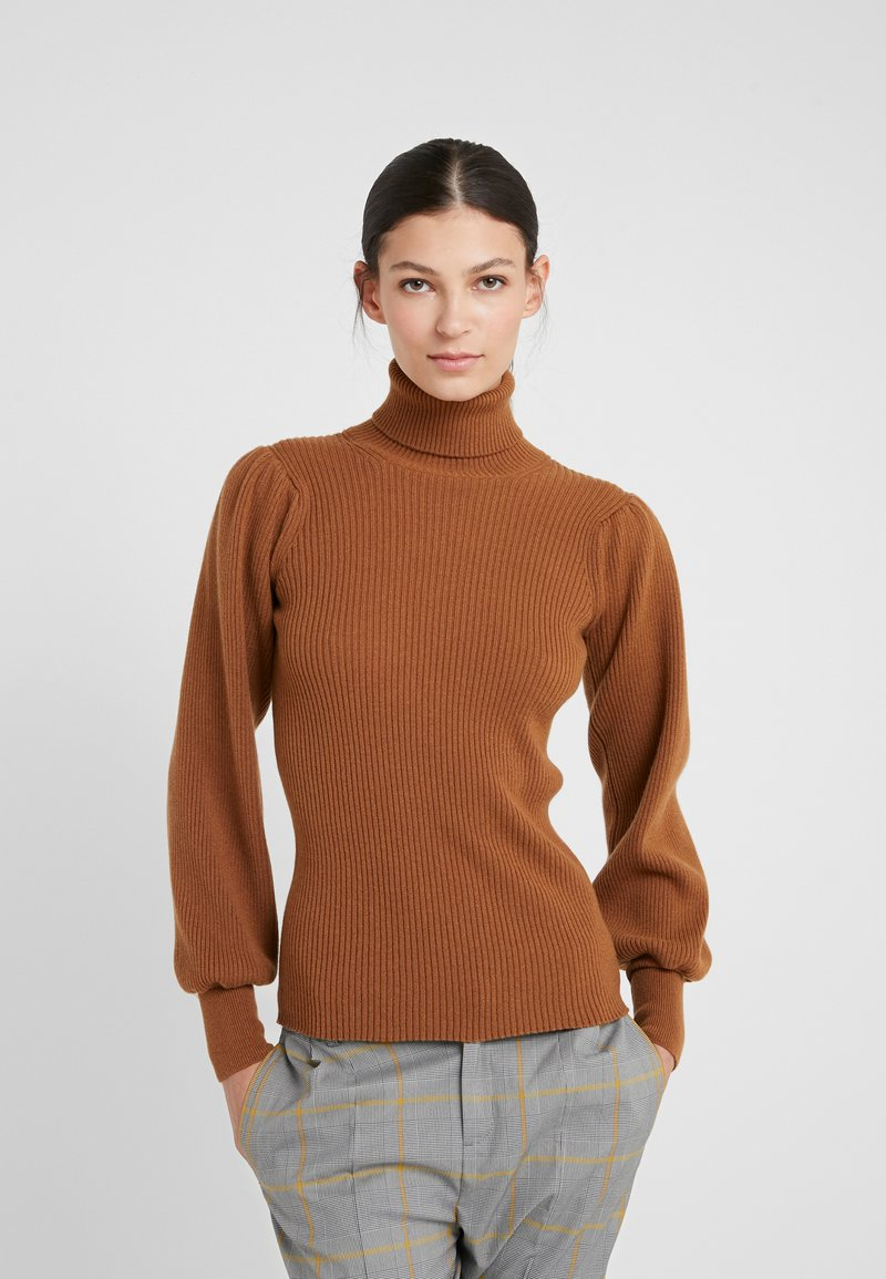 Johnstons of Elgin - CASHMERE - Jersey de punto - dark camel