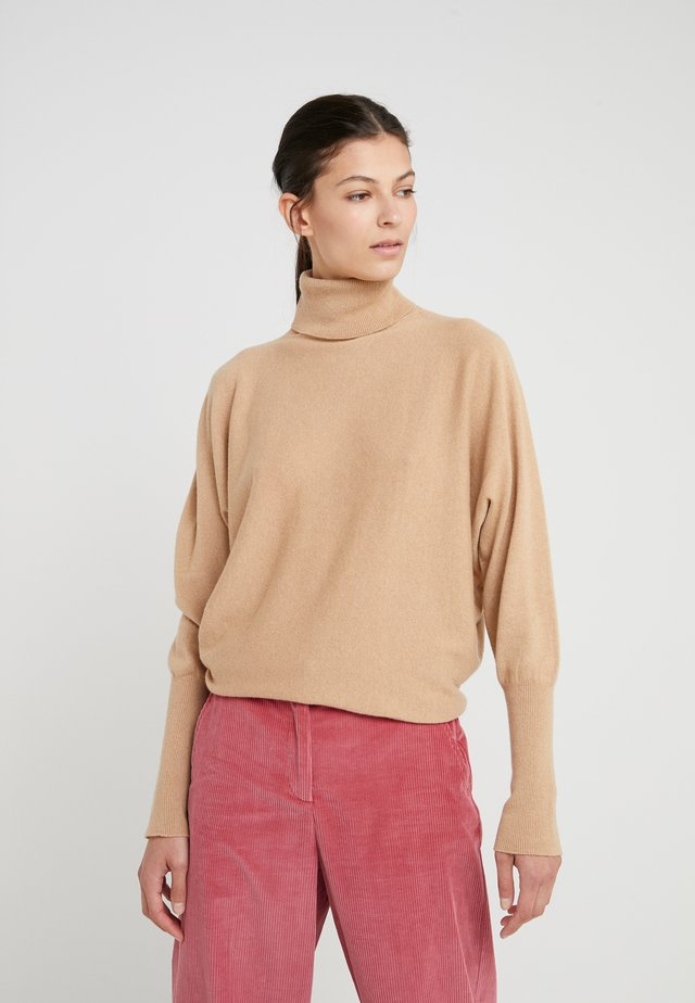 CASHMERE KAI - Strickpullover - baby camel