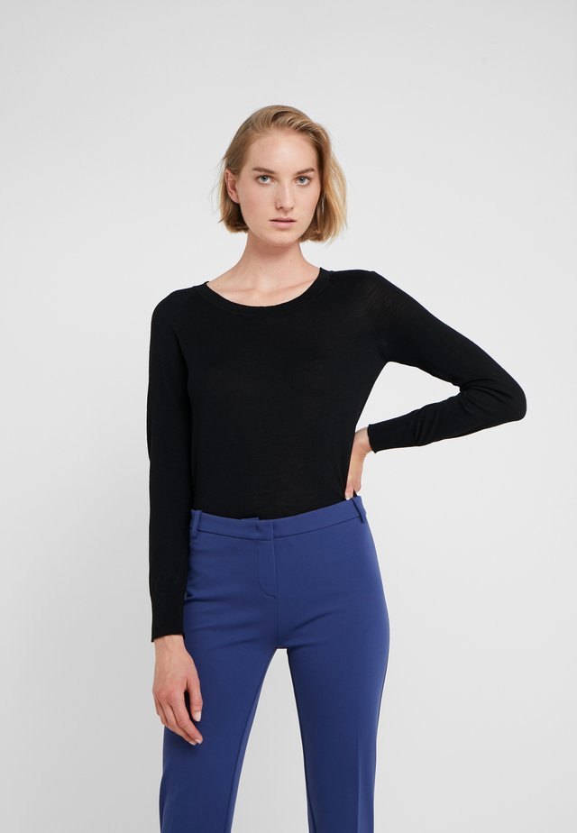 CASHMERE - Jumper - black