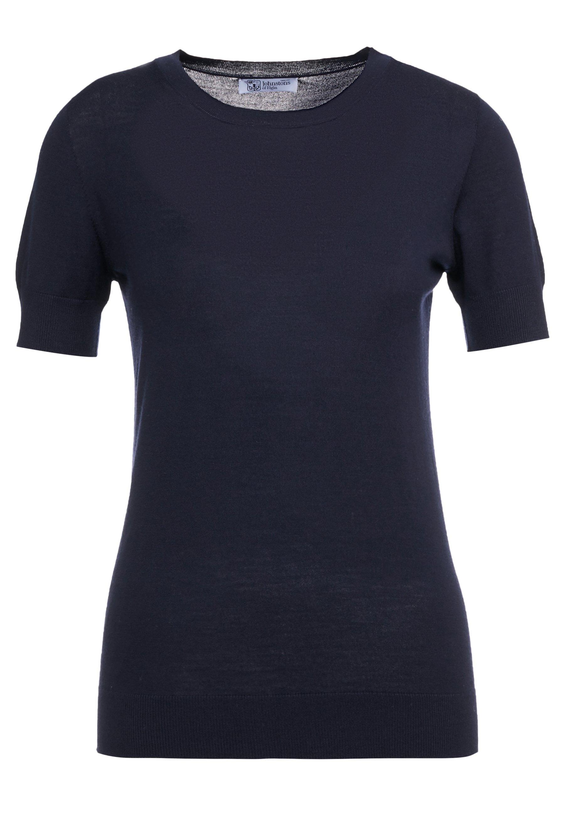 Johnstons Of Elgin Maria - T-shirt Basic Dark Navy 7XpIqSF