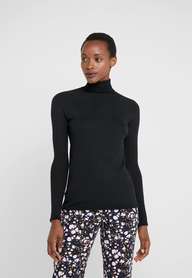 RIVER ROLL NECK - Neule - black