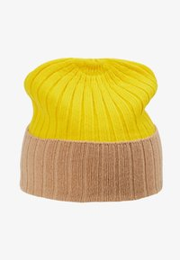 Johnstons of Elgin - Bonnet - baby camel/bright yellow - 3